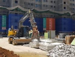 콘크리트 파쇄작업 크라샤